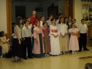 Singing Shalom