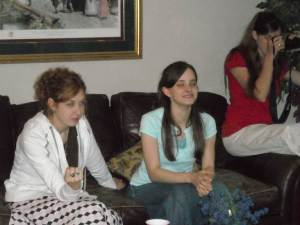 Tiffany, Jessica, and Melissa McDonald