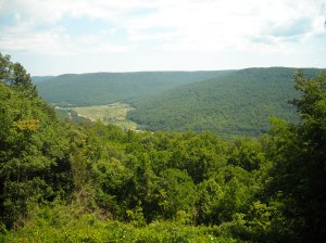 The valley from Vespers Point