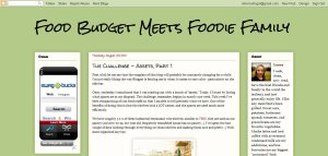 Food Budget Meets Foodie Family